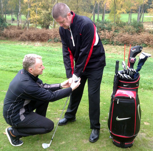 One on One Golf coaching