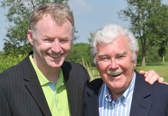 Former star of World of Sport Dickie Davies